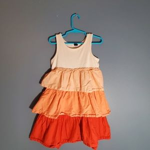 Baby GAP cotton casual pink dress